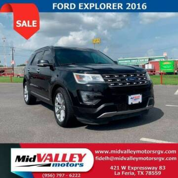 2016 Ford Explorer for sale at Mid Valley Motors in La Feria TX