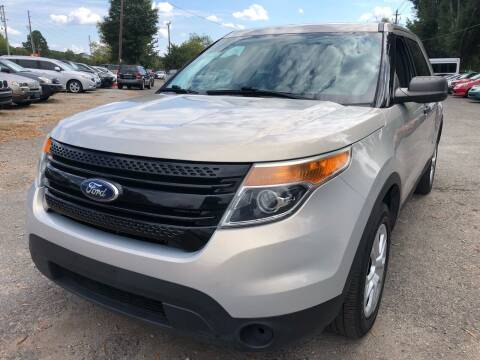 2015 Ford Explorer for sale at Atlantic Auto Sales in Garner NC