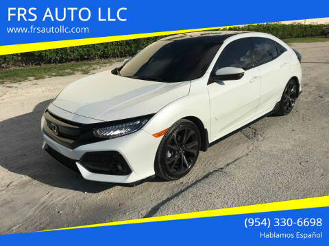 2019 Honda Civic for sale at FRS AUTO LLC in West Palm Beach FL