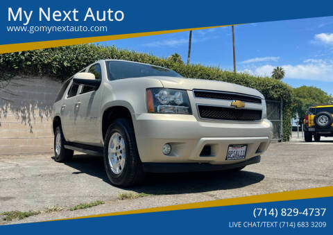 2012 Chevrolet Tahoe for sale at My Next Auto in Anaheim CA