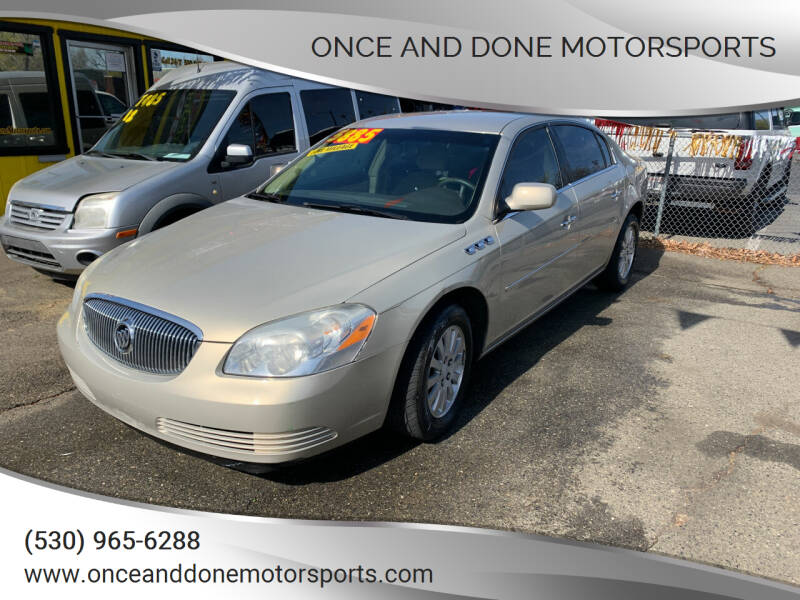 2007 Buick Lucerne for sale at Once and Done Motorsports in Chico CA