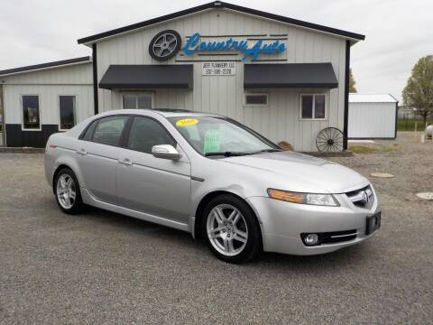 2008 Acura TL for sale at Country Auto in Huntsville OH
