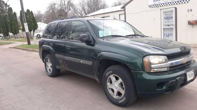 2003 Chevrolet TrailBlazer for sale at ZITTERICH AUTO SALE'S in Sioux Falls SD