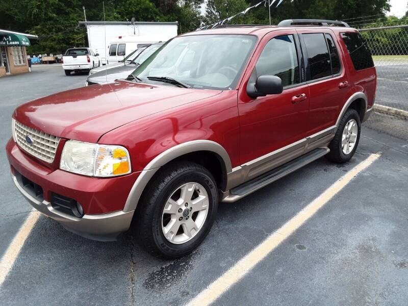 2003 Ford Explorer for sale at A-1 Auto Sales in Anderson SC