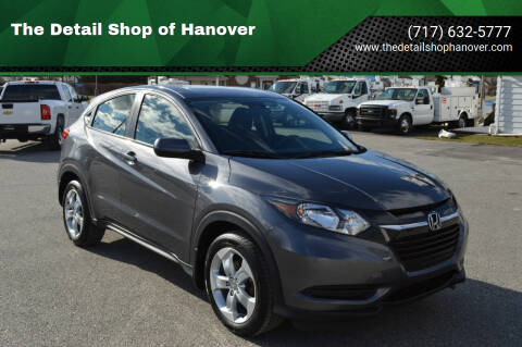 2016 Honda HR-V for sale at The Detail Shop of Hanover in New Oxford PA