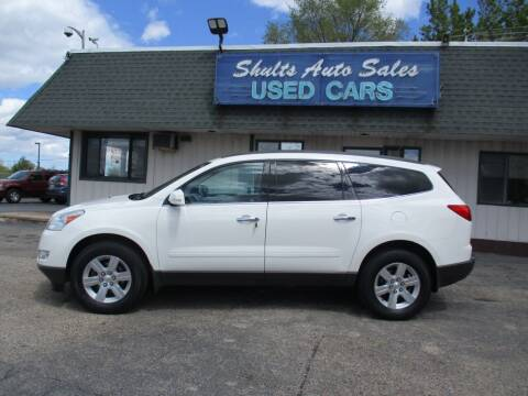 2011 Chevrolet Traverse for sale at SHULTS AUTO SALES INC. in Crystal Lake IL