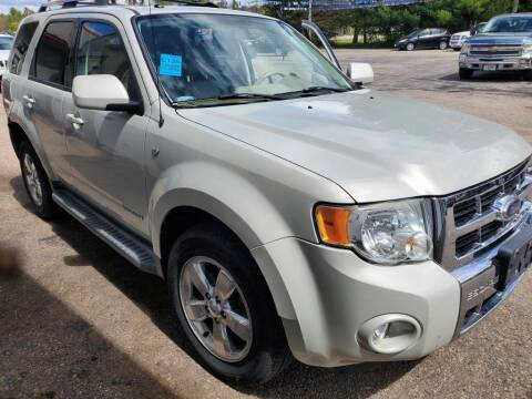 2008 Ford Escape for sale at Extreme Auto Sales LLC. in Wautoma WI