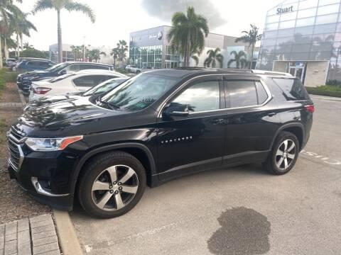 2018 Chevrolet Traverse for sale at Infiniti Stuart in Stuart FL