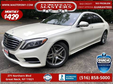2016 Mercedes-Benz S-Class for sale at European Masters in Great Neck NY