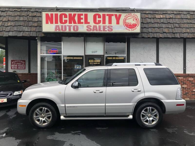 2008 Mercury Mountaineer for sale at NICKEL CITY AUTO SALES in Lockport NY