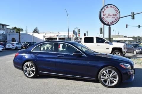2019 Mercedes-Benz C-Class for sale at San Mateo Auto Sales in San Mateo CA