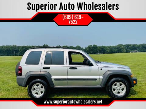 2006 Jeep Liberty for sale at Superior Auto Wholesalers in Burlington NJ