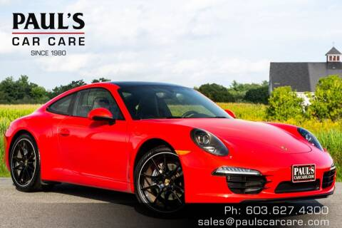 2014 Porsche 911 for sale at Paul's Car Care in Manchester NH