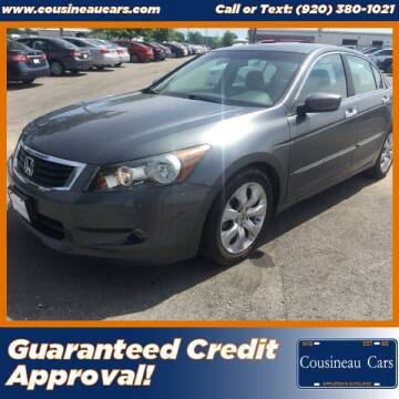 2010 Honda Accord for sale at CousineauCars.com in Appleton WI