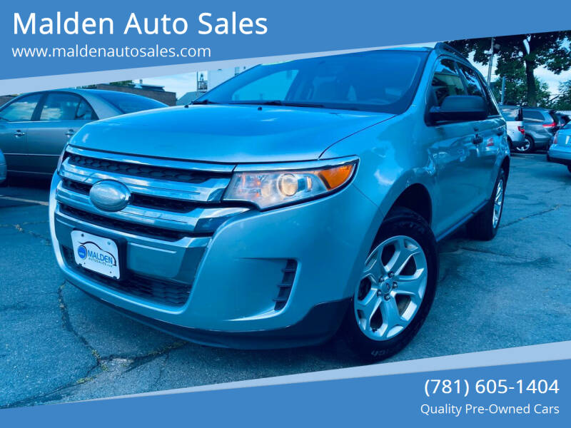 2014 Ford Edge for sale at Malden Auto Sales in Malden MA