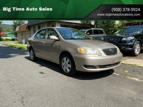 2005 Toyota Corolla for sale at Big Time Auto Sales in Vauxhall NJ