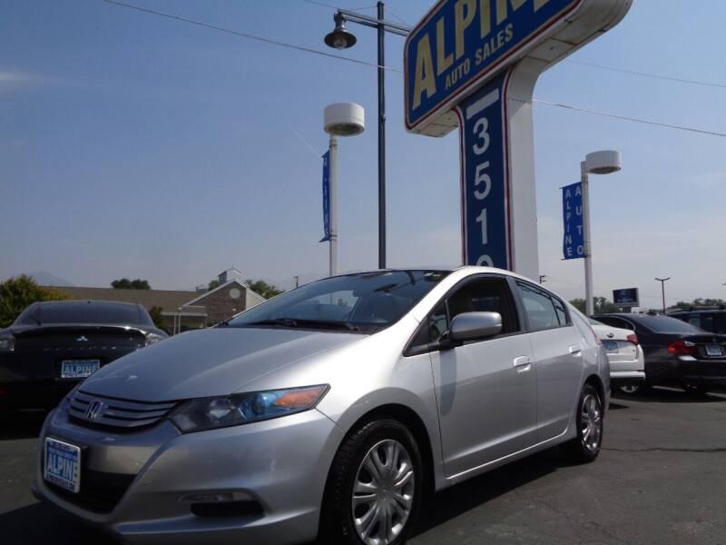 2010 Honda Insight for sale at Alpine Auto Sales in Salt Lake City UT