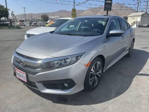 2016 Honda Civic for sale at Los Compadres Auto Sales in Riverside CA