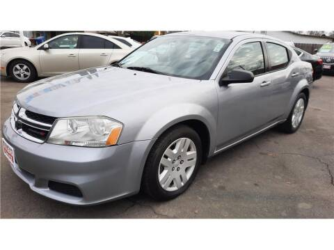2014 Dodge Avenger for sale at Dealers Choice Inc in Farmersville CA