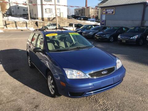 2005 Ford Focus for sale at Fortier's Auto Sales & Svc in Fall River MA