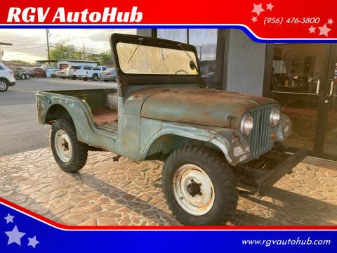 1965 Jeep CJ-5 for sale at RGV AutoHub in Harlingen TX