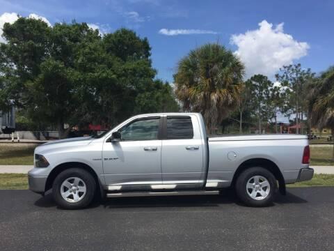 2010 Dodge Ram Pickup 1500 for sale at Mason Enterprise Sales in Venice FL