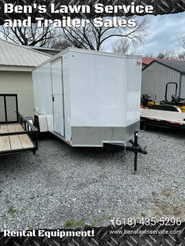 PaceAmerican 6'X12'EnclosedTrailer for sale at Ben's Lawn Service and Trailer Sales in Benton IL