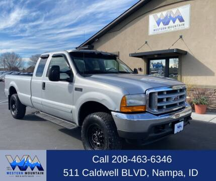 2001 Ford F-250 Super Duty for sale at Western Mountain Bus & Auto Sales in Nampa ID
