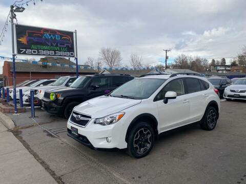 2013 Subaru XV Crosstrek for sale at AWD Denver Automotive LLC in Englewood CO
