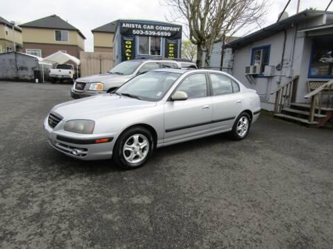 2005 Hyundai Elantra for sale at ARISTA CAR COMPANY LLC in Portland OR