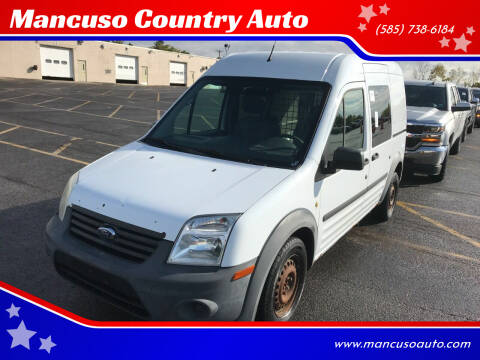 2010 Ford Transit Connect for sale at Mancuso Country Auto in Batavia NY