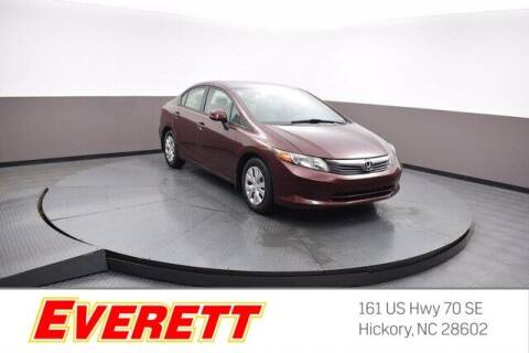 2012 Honda Civic for sale at Everett Chevrolet Buick GMC in Hickory NC