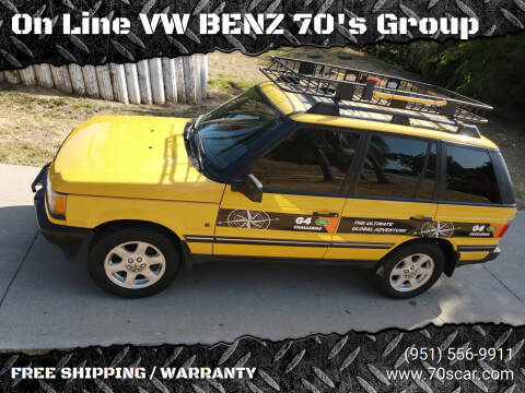 2002 Land Rover Range Rover for sale at On Line VW BENZ 70's Group in Warehouse CA
