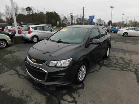 2017 Chevrolet Sonic for sale at Paniagua Auto Mall in Dalton GA