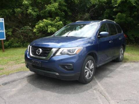 2018 Nissan Pathfinder for sale at Luv Motor Company in Roland OK