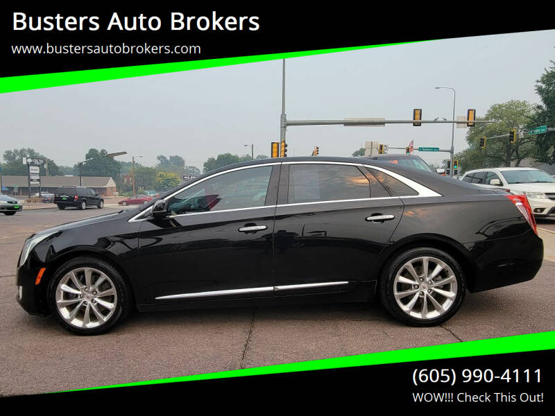 2013 Cadillac XTS for sale at Busters Auto Brokers in Mitchell SD