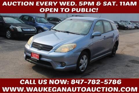 2005 Toyota Matrix for sale at Waukegan Auto Auction in Waukegan IL