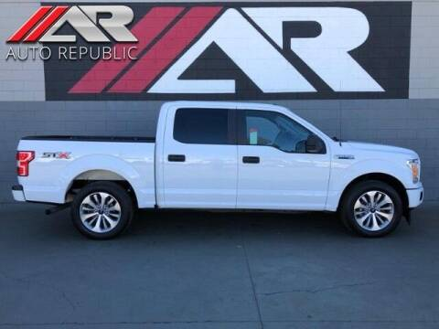 2018 Ford F-150 for sale at Auto Republic Fullerton in Fullerton CA