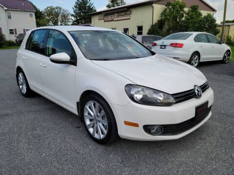 2014 Volkswagen Golf for sale at John Huber Automotive LLC in New Holland PA