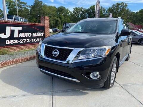 2015 Nissan Pathfinder for sale at J T Auto Group in Sanford NC