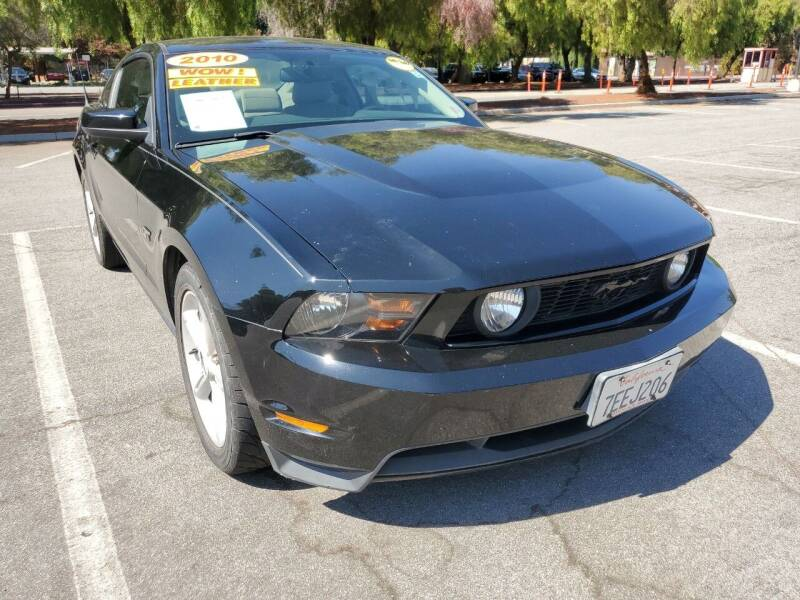 2010 Ford Mustang for sale at ALL CREDIT AUTO SALES in San Jose CA