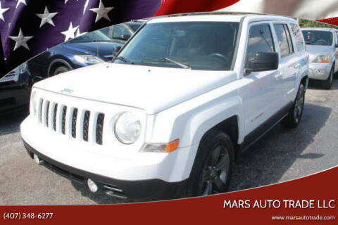 2014 Jeep Patriot for sale at Mars auto trade llc in Kissimmee FL