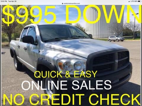 2008 Dodge Ram Pickup 1500 for sale at Cooks Motors in Westampton NJ