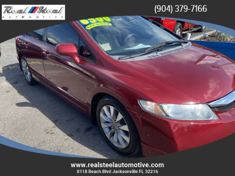 2009 Honda Civic for sale at Real Steel Automotive in Jacksonville FL