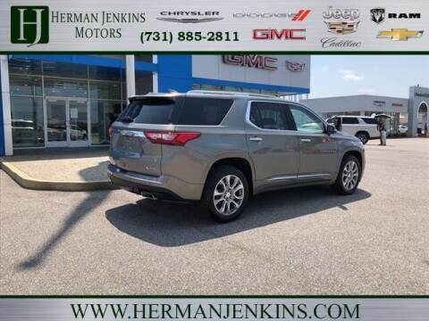 2018 Chevrolet Traverse for sale at Herman Jenkins Used Cars in Union City TN
