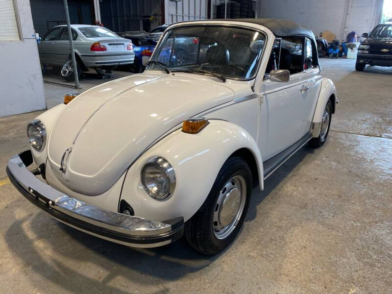1978 Volkswagen Beetle Convertible for sale at JMAC IMPORT AND EXPORT STORAGE WAREHOUSE in Bloomfield NJ