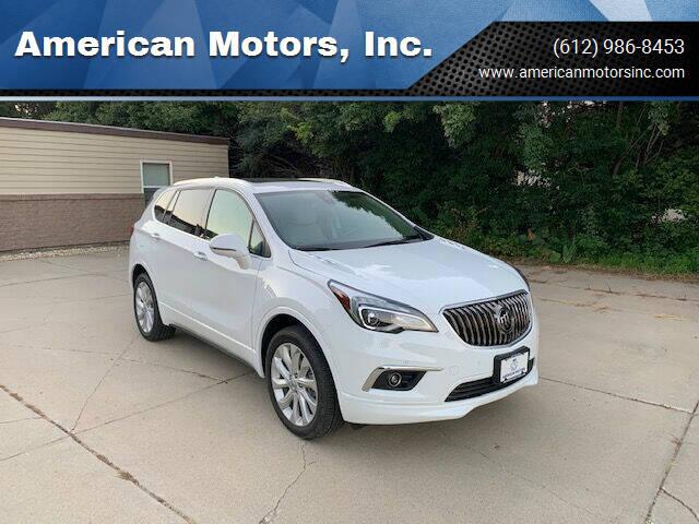 2018 Buick Envision for sale at American Motors, Inc. in Farmington MN