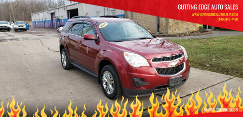 2011 Chevrolet Equinox for sale at Cutting Edge Auto Sales in Willoughby OH