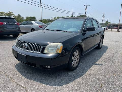 2006 Mercury Montego for sale at Signal Imports INC in Spartanburg SC