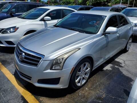 2013 Cadillac ATS for sale at America Auto Wholesale Inc in Miami FL